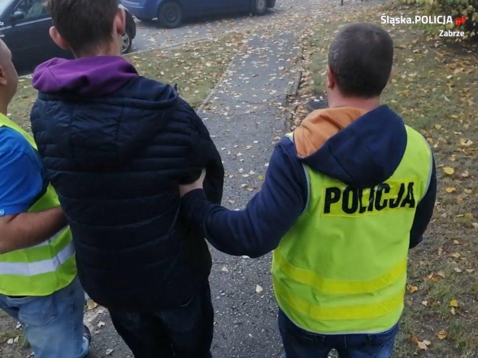 15 latek zaatakował taksówkarza Zabrze