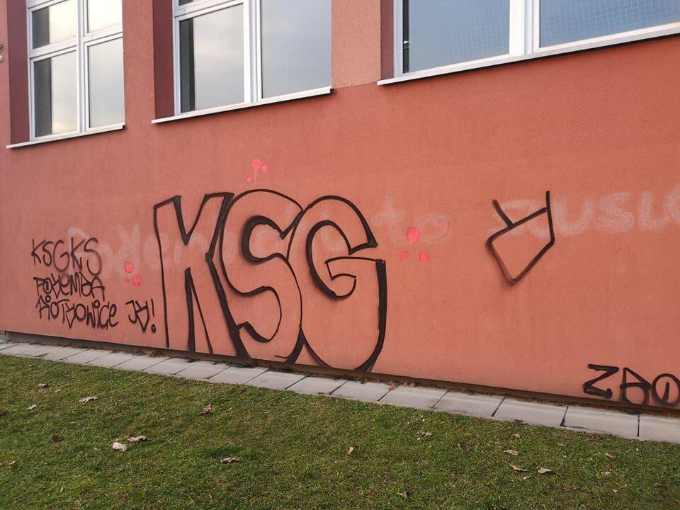 Wandale zniszczyli nie tylko elewację, ale też drzwi i okna ZSO nr 14 w dzielnicy Zaborze-Północ. Do zniszczenia doszło w nocy z piątku na sobotę. Poszukiwany jest sprawca tej dewastacji.