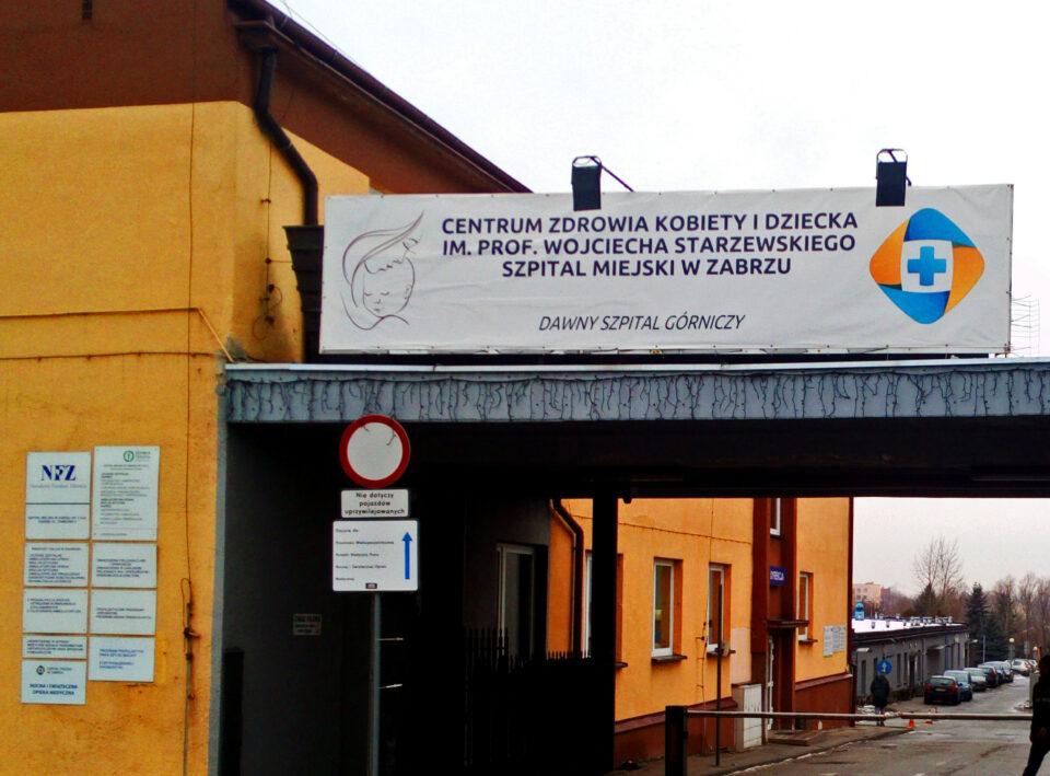 Centrum Zdrowia Kobiety i Dziecka im. prof. Wojciecha Starzewskiego zawiesiła czasowo przyjmowanie pacjentek. Powód? U jednej z kobiet przebywającej w Szpitalu Miejskim w Zabrzu stwierdzono zakażenie COVID-19.